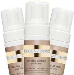 Certified Organic Tanning Mousse